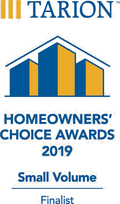 Tarion Homeowners' Choice Awards 2019 Small Volume Finalist
